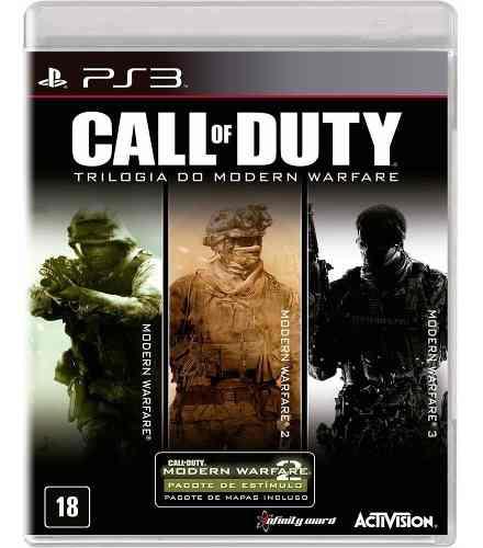 Call Of Duty Trilogia Do Modern Warfare - PS3