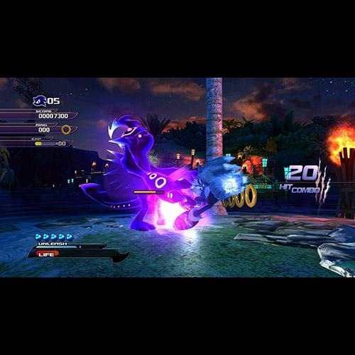 Jogo Sonic Unleashed - PS3