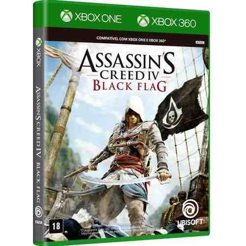 Jogo Assassin's Creed Iv Black Flag - Xbox360