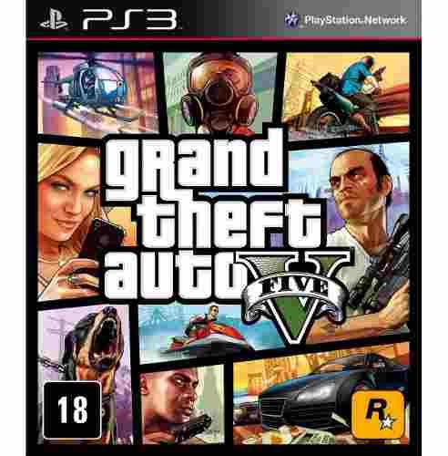 Grand Theft Auto V GTA V - PS3