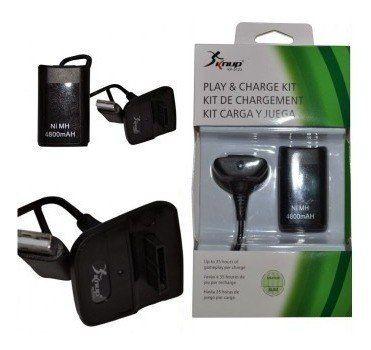 Carregador De Bateria Para Xbox 360 Knup Kp-5123
