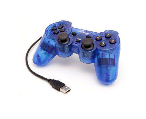 Controle Pc Knup Kp-3121 Azul