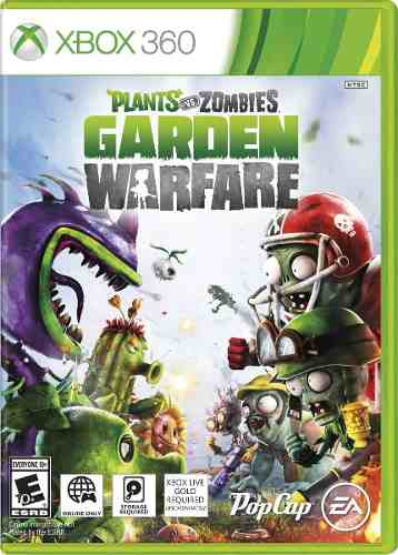 Jogo Plants Vs Zombies Garden Warfare - Xbox 360
