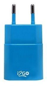 Carregador De Parede 1usb Basic I2go 1amp Azul