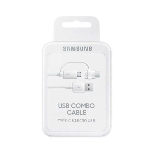 Cabo De Dados Duplo Micro Usb/tipo-c Samsung