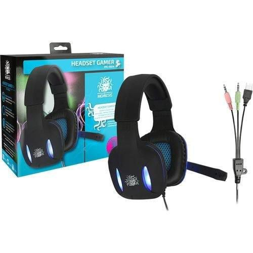 Headset Gamer 5+ Nemesis 015-0054 Chip Sce