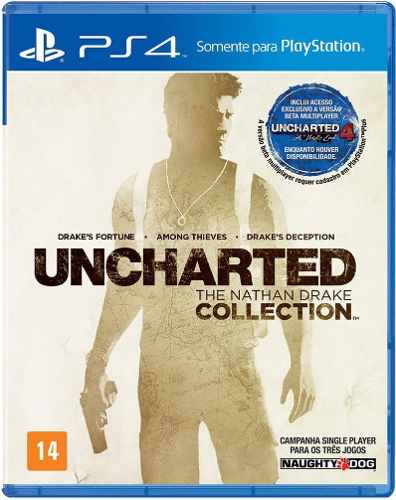 Uncharted Collection The Nathan Drake PS4