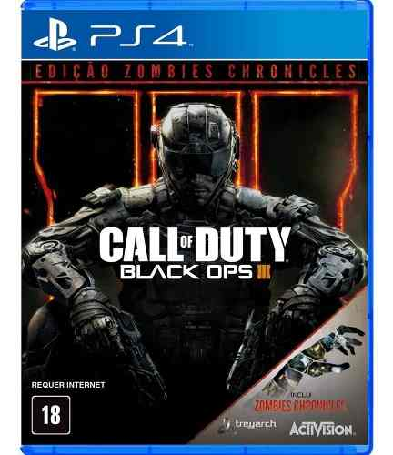 Call Of Duty Black Ops 3 Ed Zombies Chronicles Ps4