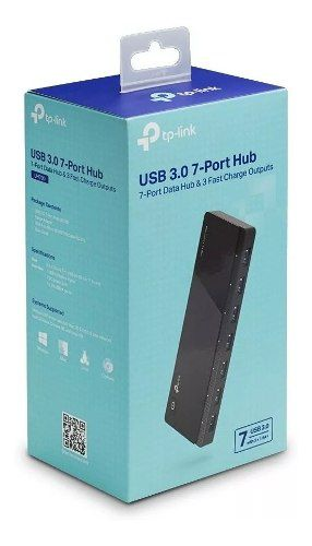 Hub Usb 3.0 Portátil Tp-link Uh700 7 Pts + Fonte Externa