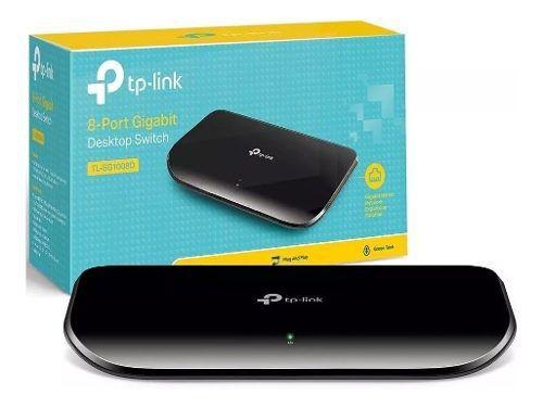 Switch 8 Portas Gigabit Tp-link Tl-sg1008d 10/100/1000
