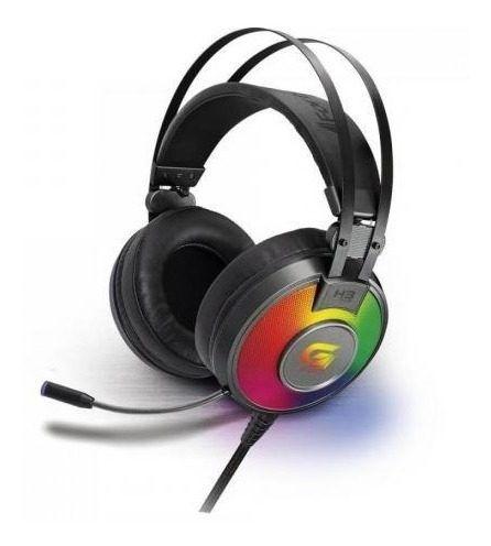 Headset Gamer Rgb G Pro H3+ 7.1 Cinza - Fortrek