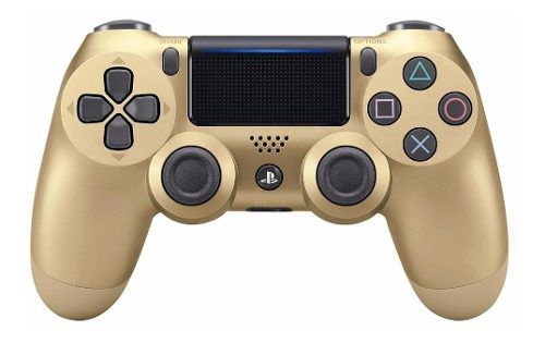 Controle PS4 Dualshock 4 Slim Gold - Sony