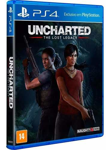 Uncharted The Lost Lagacy - Ps4