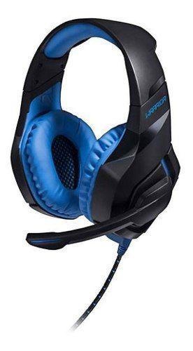 Headset Warrior Multilaser Ph244 Straton Gamer Usb Led Azul