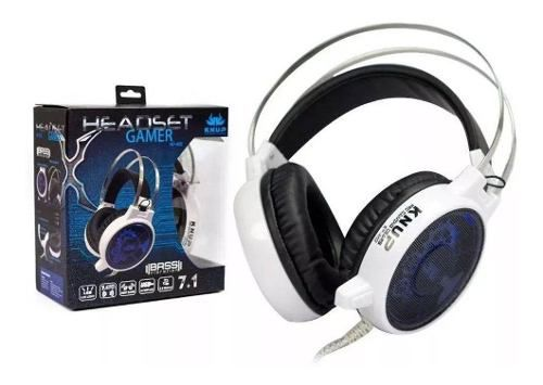 Headset Gamer 7.1 Knup Kp-402 C/ Led