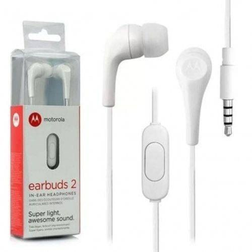 Fone De Ouvido Earbuds 2 Motorola Br