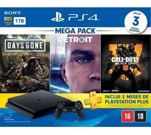 Console Playstation 4 1tb Hits Bundle + Controle Dualshock 4