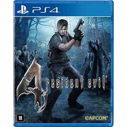 Jogo Resident Evil 4 (Remasterizado) - Ps4