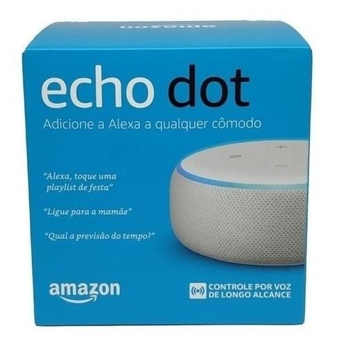 Alexa Echo Dot 3 Smart Speak Assistente Virtual