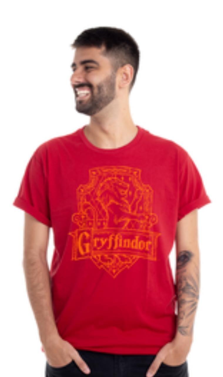 Camiseta Clube Mix Casa Grifinoria Harry Potter