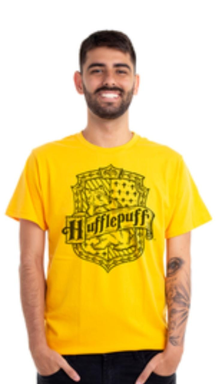 Camiseta Clube Mix Casa Lufa Lufa Harry Potter
