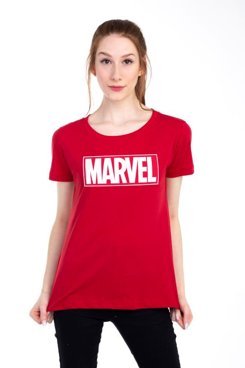 Camiseta Clube Mix Logo Marvel