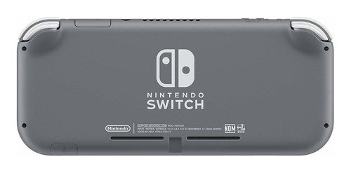 Console Nintendo Switch Lite 32gb Cinza