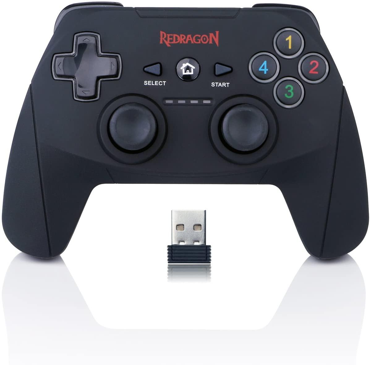 Controle Redragon Harrow G808 p/ PC e PS3