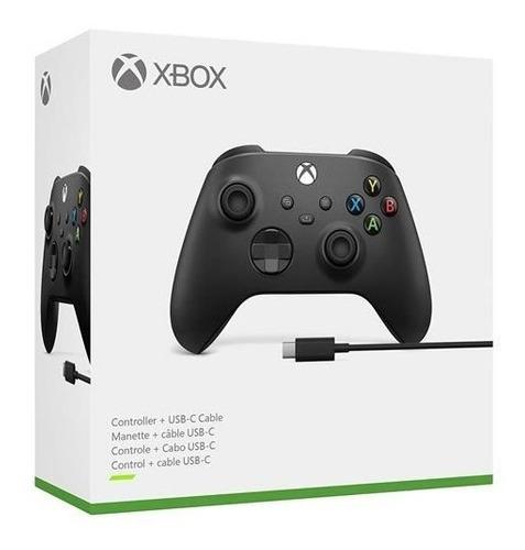 Controle Xbox Series X / S - Xbox One Cabo Usb-c Pc Windows