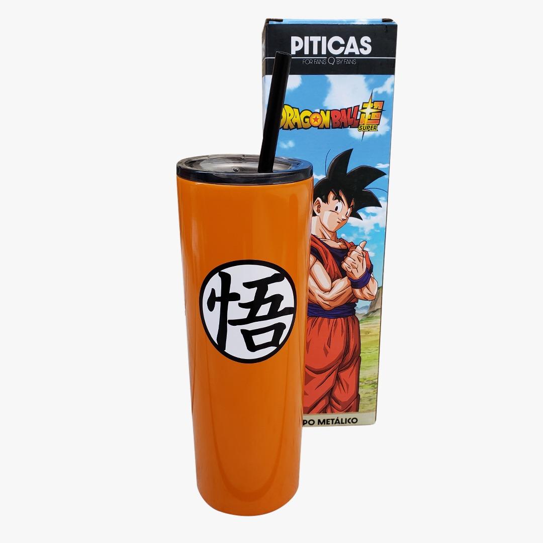 Copo Metálico Dragon Ball Super Goku