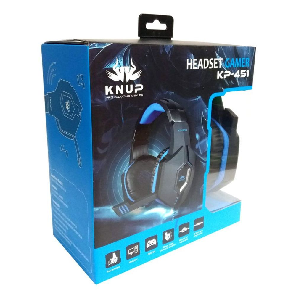 Headset Gamer Ps4 Xbox One Pc Entrada P2 / P3