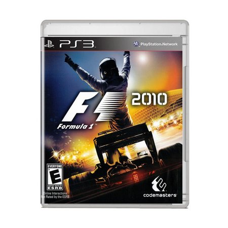 Jogo Formula 1 2010 ps3 Semi-novo