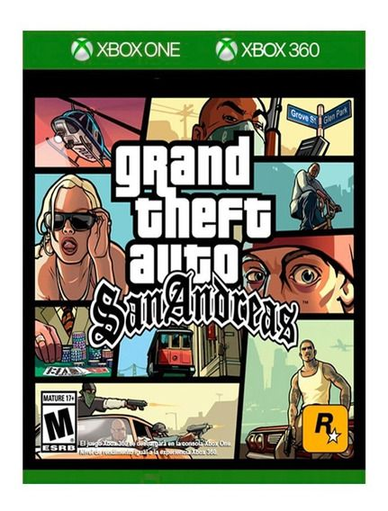 Grand Theft Auto GTA San Andreas Xbox360