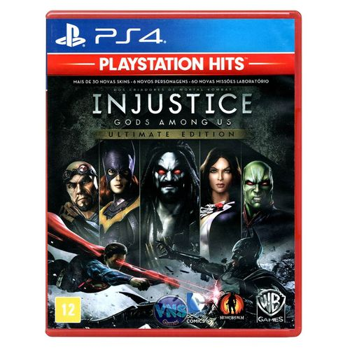 Injustice Gods Amongus Ultimate Edition Ps4
