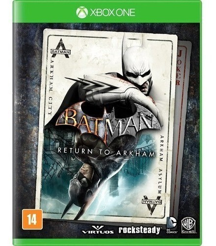 Jogo Batman Return To Arkham - Xbox One