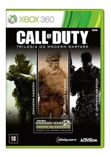 Jogo Call Of Duty Trilogia Do Modern Warfare - Xbox360