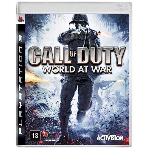 Jogo  Call Of Duty World At War PS3