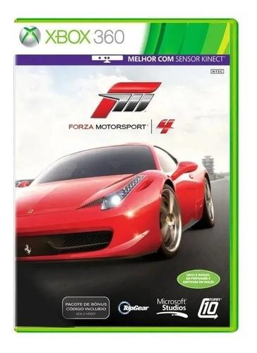 Jogo Forza Motorsport 4 Xbox 360 (seminovo)