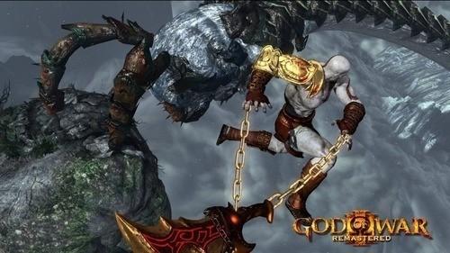 Jogo God Of War 3 Remastered (Seminovo - Emba. Papelão) - Ps4