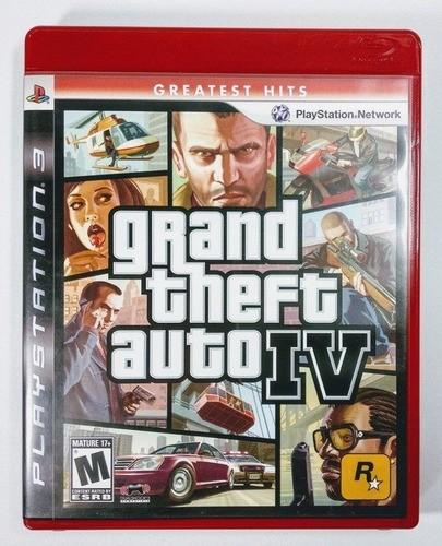 Jogo Grand Theft Auto Gta Iv PS3 (seminovo)