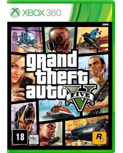 Jogo Grand Theft Auto V (Seminovo) - Xbox 360