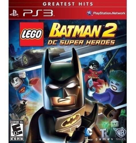 Jogo Lego Batman 2 Dc Super Heroes PS3