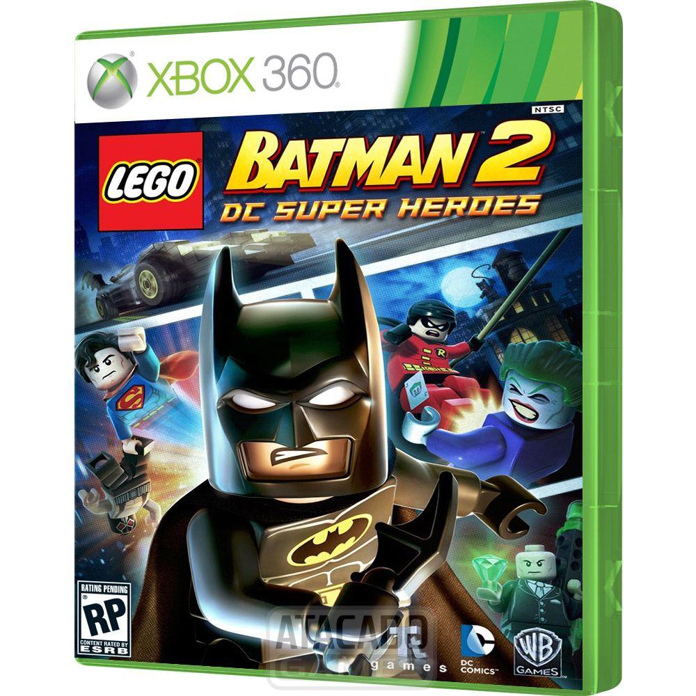 Jogo Lego Batman 2 Dc Super Heroes Xbox 360 Original