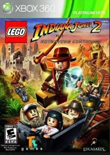 Jogo Lego Indiana Jones 2 Xbox360 Original