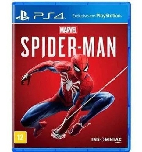 Jogo Marvel's Spider- Man  (seminovo) -  PS4
