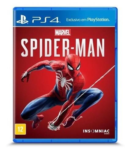 Jogo Marvel Spider-man - Ps4 (seminovo)