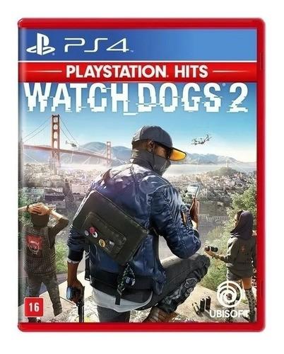 Jogo Mídia Física Watch Dogs 2 Original Seminovo Ps4