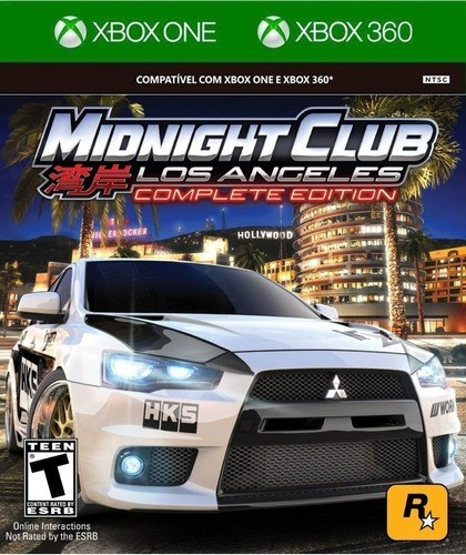 Jogo Midnight Club Los Angeles (Complete Edition) - Xbox360
