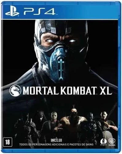 Jogo Mortal Kombat Xl  Ps4