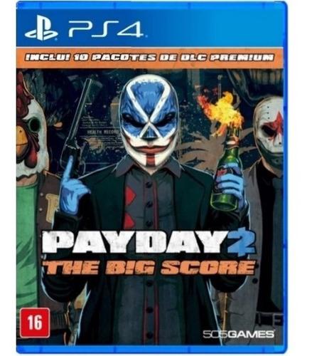 Jogo Payday 2 - The Big Score PS4